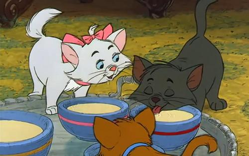The Aristocats karatasi la kupamba ukuta containing anime titled The Aristocats