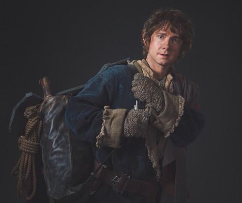 द हॉबिट वॉलपेपर titled The Hobbit - Bilbo Baggins