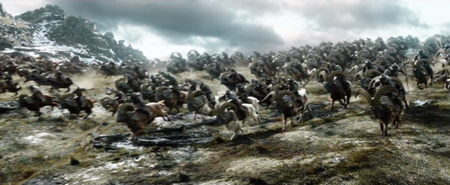 द हॉबिट वॉलपेपर entitled The Hobbit: The Battle Of The Five Armies - Teaser Trailer Screencaps