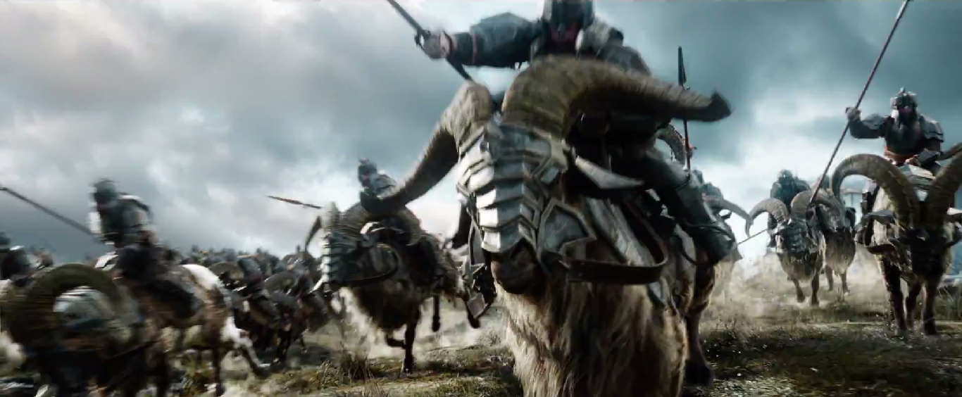five armies the battle hobbit trailer the of