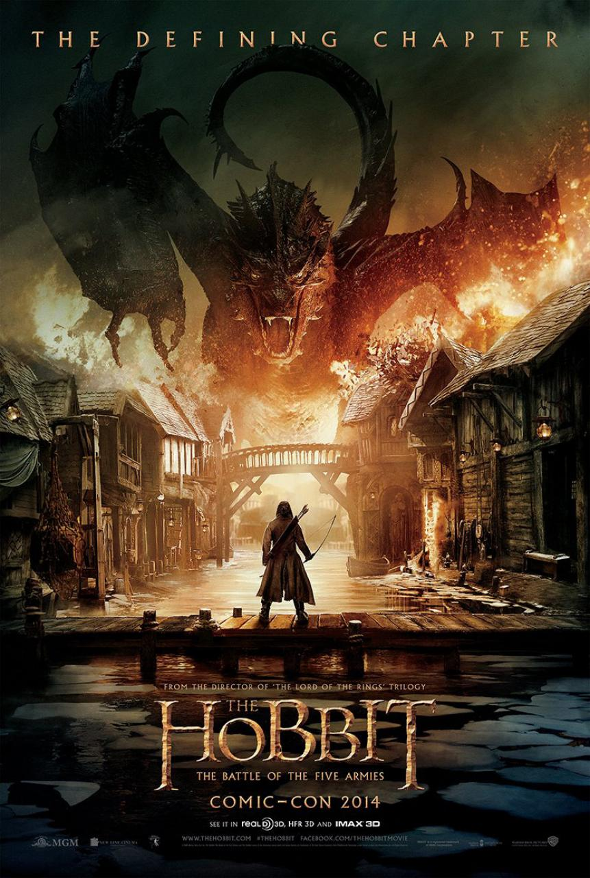The Hobbit: The Battle of Five Armies Poster (Hi-Res)