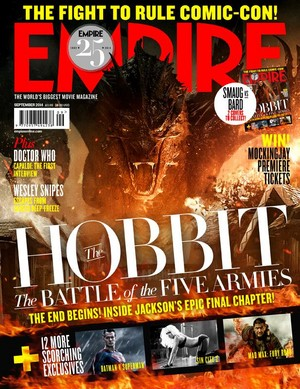 The Hobbit: The Battle of the Five Armies covers Empire Magazine!