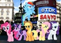 The Mane 6 at Londres