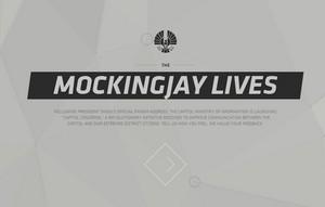The Mockingjay Lives