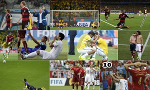 The ten most memorable moments of the World Cup, 2014