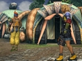 Tidus and Wakka - Besaid Village