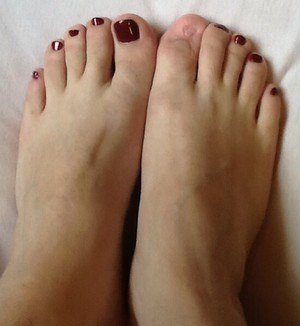 Today's pedicure