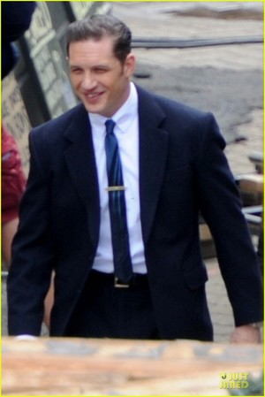 Tom Hardy Is the Handsome 'Legend' in a Suit