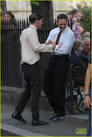 Tom Hardy in 'Legend' Shoot