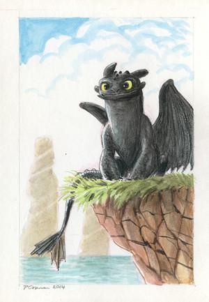 Toothless 由 Phil Craven
