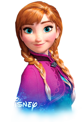 Frozen achtergrond called Transparent Anna