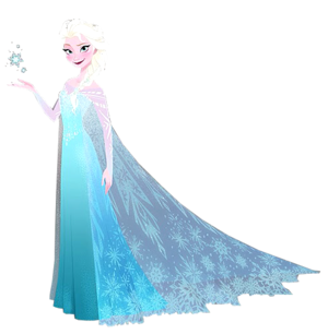 Transparent Elsa Concept Art oleh Brittney Lee