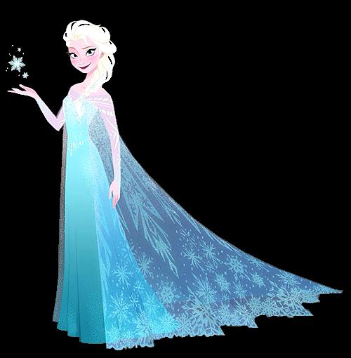 Transparent Elsa Concept Art por Brittney Lee