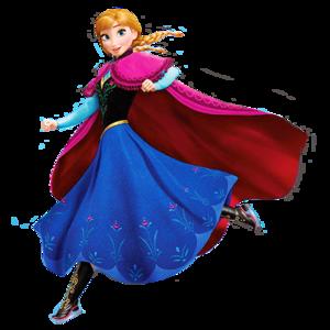 Transparent Princess Anna