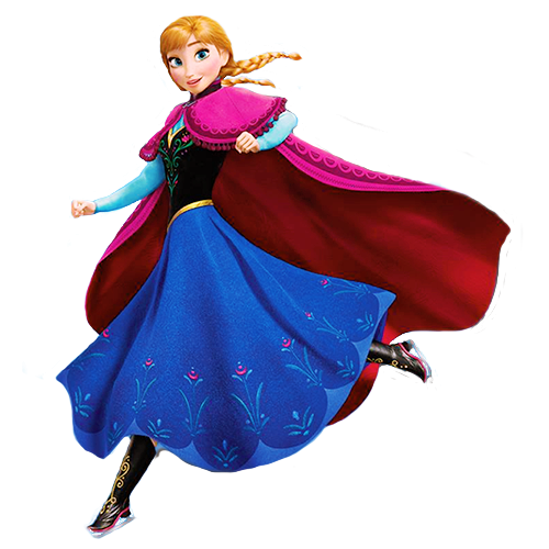 《冰雪奇缘》 壁纸 possibly containing a kirtle, 长裙 titled Transparent Princess Anna