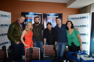 Travis, Clive Standen, Katheryn Winnick and Alexander Ludwig