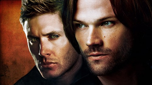 Supernatural wallpaper with a portrait called Tvguide ComiCon Cover as Wallpaper