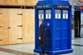 Twelve and Tardis - the-twelfth-doctor wallpaper