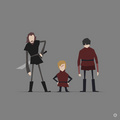 Tyrion Lannister, Bronn and Podrick Payne - tyrion-lannister fan art