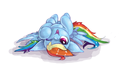 Upside Down - rainbow-dash photo
