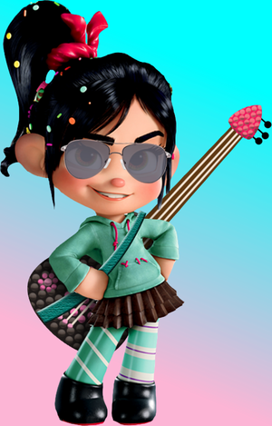 Vanellope as an Singer & Songwriter