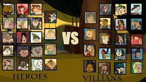 Villains Vs Heroes.