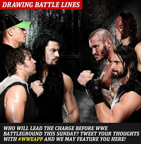 The Shield (WWE) wallpaper possibly with anime and a portrait entitled WWE App Picture