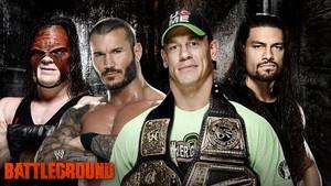 wwe Battleground - Fatal Four Way fo the wwe World Heavyweight judul