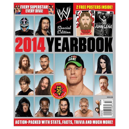 The Shield (WWE) wallpaper with anime titled WWE Magazine - 2014 Yearbook