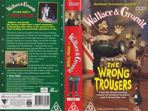 Wallace & Gromit VHS