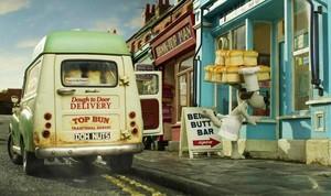 Wallace & Gromit wallpaper