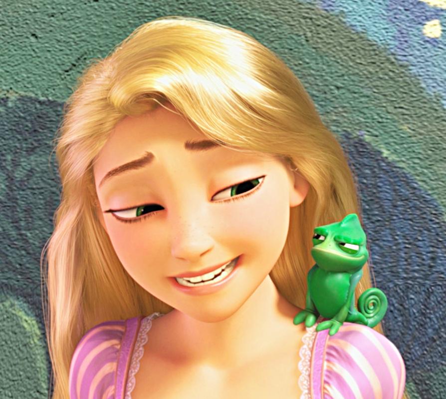 Walt Дисней - Princess Rapunzel