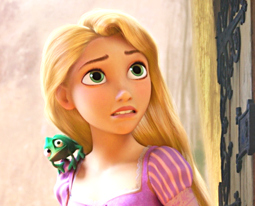 tangled wallpaper with a portrait titled Walt disney - Princess Rapunzel