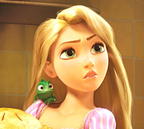 라푼젤 바탕화면 containing a portrait titled Walt 디즈니 - Princess Rapunzel