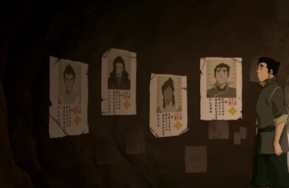 Avatar: The Legend of Korra wallpaper titled Wanted Posters