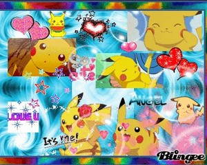 We l'amour Pikachu