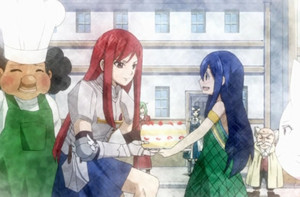 Wendy Marvell and Erza Scarlet
