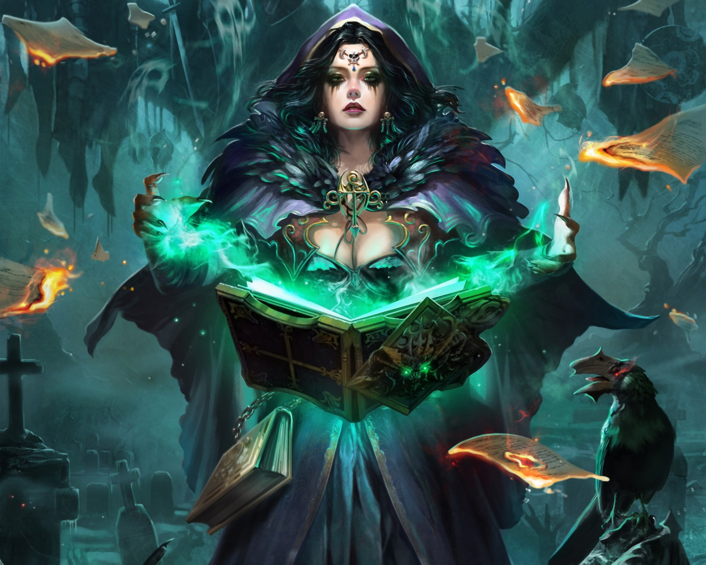 fantasy images witch hd wallpaper and background photos
