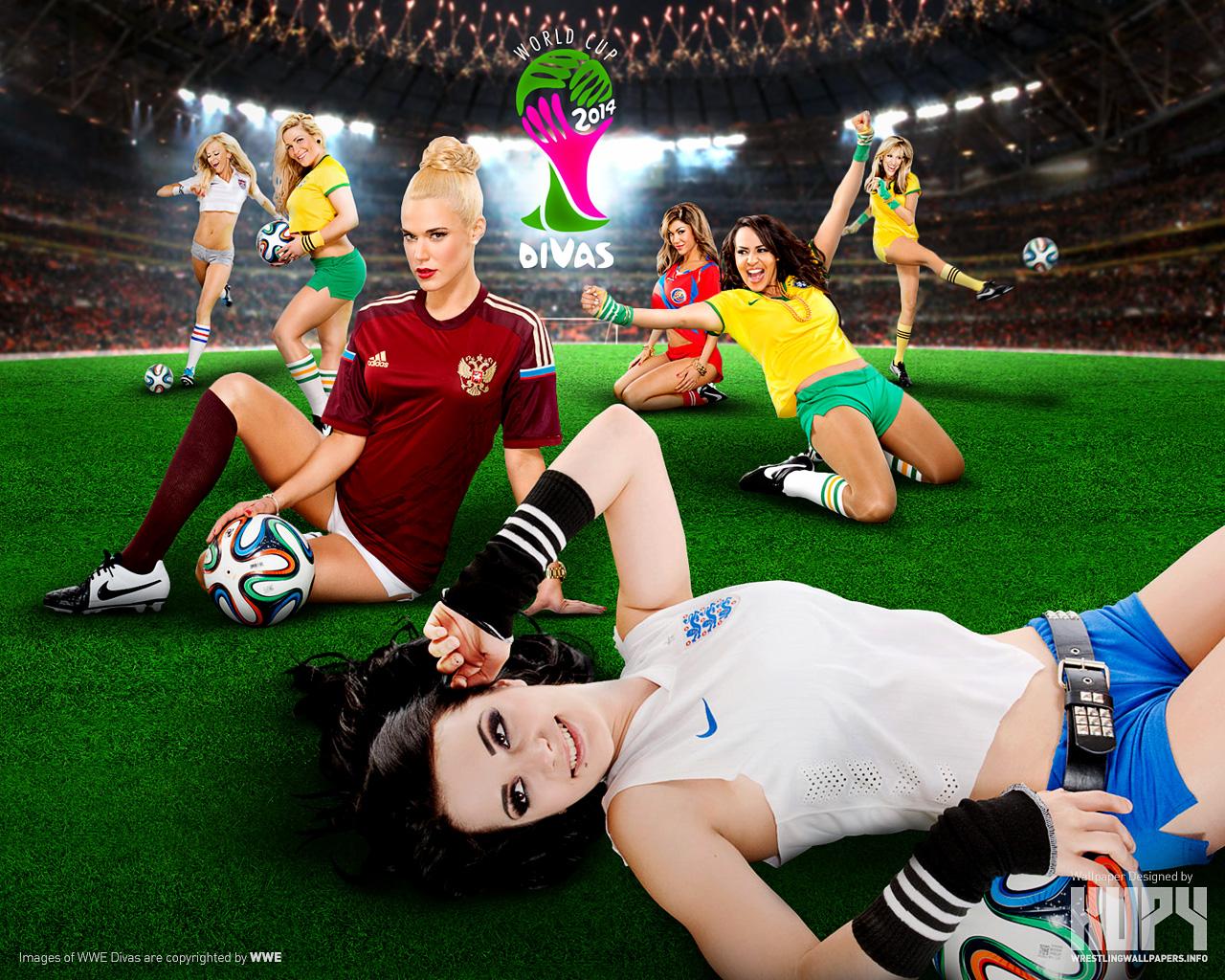 World Cup 2014 Divas