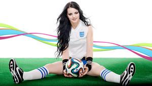 World Cup Divas - Paige