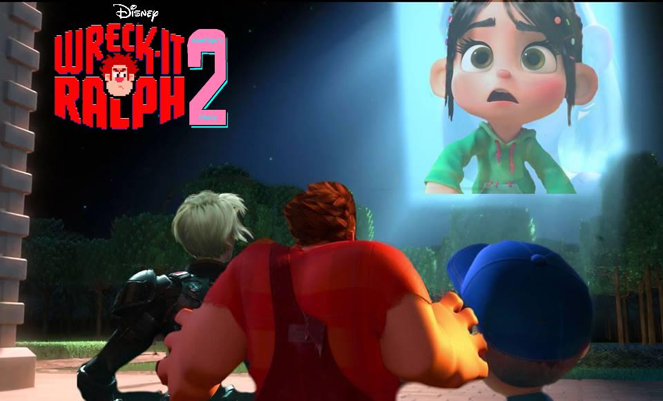 Wreck-It Ralph 2 Development Banner