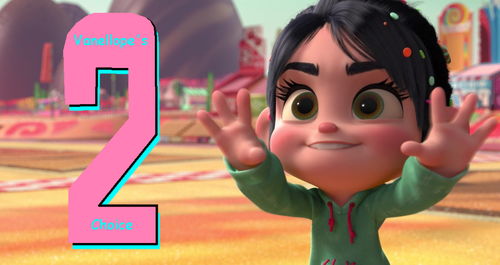 Vanellope von Schweetz wolpeyper entitled Wreck-It Ralph 2 Official Worldwide Banner