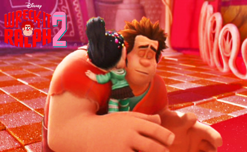 Vanellope von Schweetz wolpeyper probably containing a bouquet called Wreck-It Ralph 2 (You Came Back!)