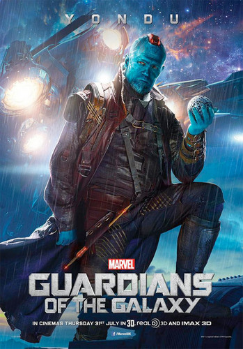Guardians of the Galaxy 바탕화면 probably containing 아니메 titled Yondu Poster