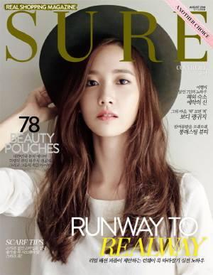 YoonA - SURE Magazine August 2014 Issue