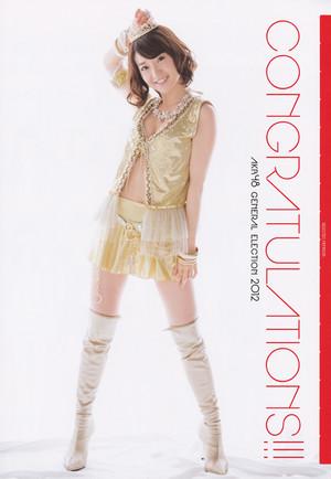 Yuko AKB48 Sousenkyo! Mizugi Surprise Happyou