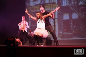 Zendaya and Val performing in SWAY: A Dance Trilogy at The মহাকাশ at Westbury in Westbury, NY
