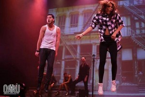 Zendaya and Val performing in SWAY: A Dance Trilogy at The Космос at Westbury in Westbury, NY
