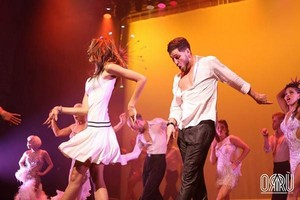 Zendaya and Val performing in SWAY: A Dance Trilogy at The 宇宙 at Westbury in Westbury, NY