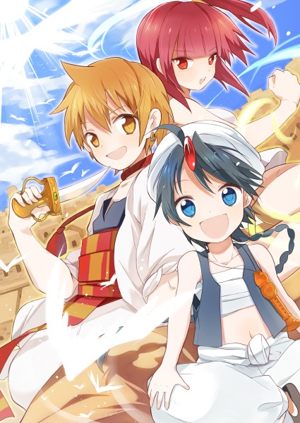 Magi Kingdom of Magic Alibaba Magi-the-kingdom-of-magic